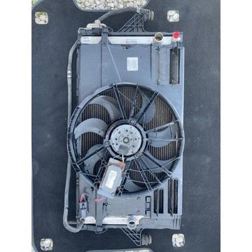 Chłodnica klimatyzacji i wiatrak Volvo V50