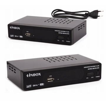 Tuner DVB-T2 Linbox Avira HDTR 875 H.265 HEVC
