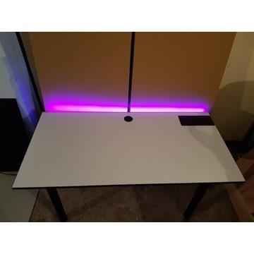 Biurka gamingowe komputerowe  dla graczy LED