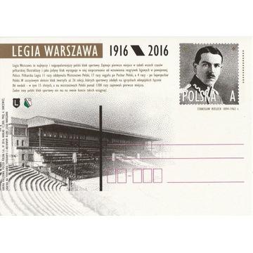 Cp 1743**- LEGIA WARSZAWA 1916 - 2016