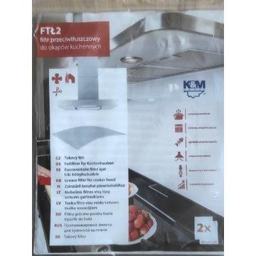 Filtr przeciw tłuszczowy do okapów kuchennych