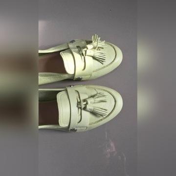 ALDO Yeliviel balerinki mokasyny 39 nowe skora