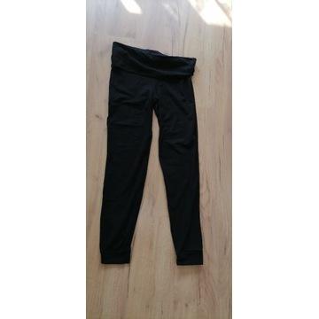 spodnie legginsy czarne używane noszone fetysz
