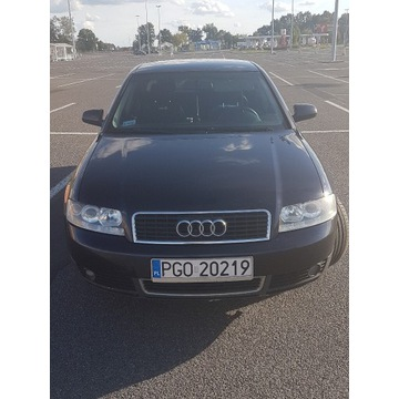 Audi A4 BENZYNA+LPG