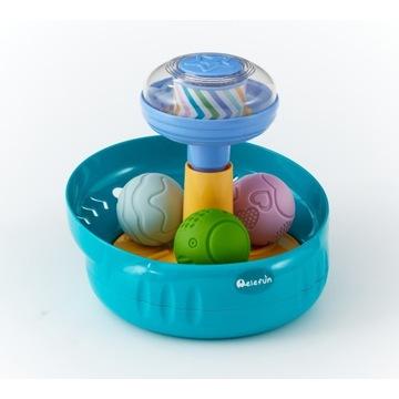Zabawka edukacyjna bączek z piłeczkami bączek