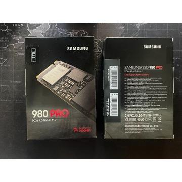Dysk SSD NVMe Samsung 980 Pro 1TB