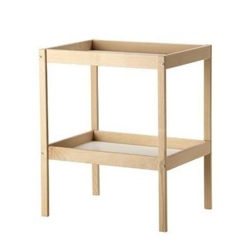 IKEA stół do przewijania przewijak buk SNIGLAR