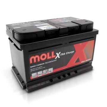 Akumulator 12v 75Ah 720A P+ MOLL 3 lata GW