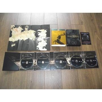 GRA O TRON 3 Wersja Kolekcjonerska- BLURAY POLSKI
