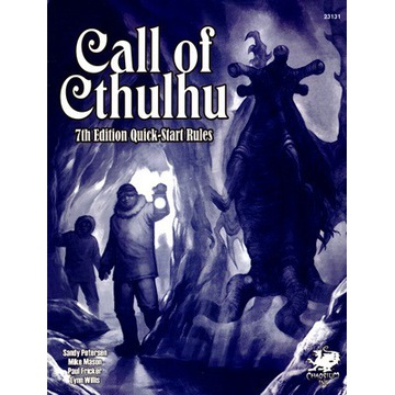 CALL OF CTHULHU - 7TH ED. QUICK-START RULES (RPG)