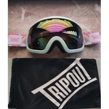 TRIPOUT Pinky Blaze google narciarskie snowboard