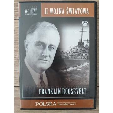 II WOJNA ŚWIATOWA FRANKLIN ROOSEVELT - FILM VCD
