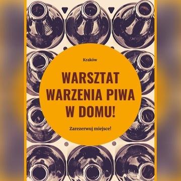 Warsztaty warzenia piwa domowego 7.12. w Krakowie