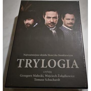 Trylogia Sienkiewicza czytają Małecki, i inni