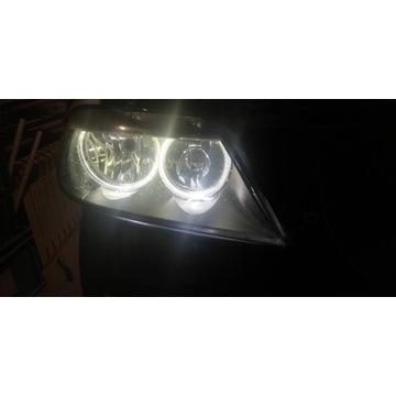 Lampa prawa prawy przód e90 e91 e92 lift Europa h7