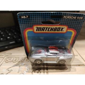 Porsche 959 1991 matchbox