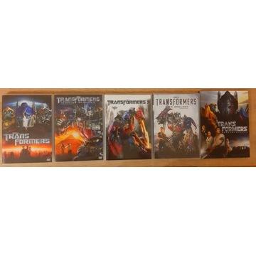 TRANSFORMERS FILMY DVD/wszystkie części