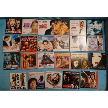 Filmy DVD - 53 szt.