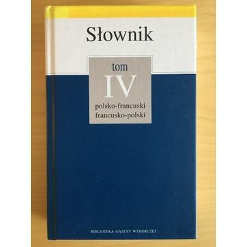 Słownik polsko-francuski francusko-polski gramatyk