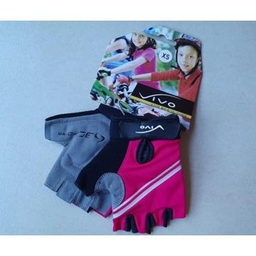 Rękawiczki dziecięce vivo, czerwone, rozmiar XS
