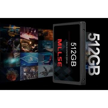 FABRYCZNIE NOWY DYSK SSD 512GB 2.5'' SATA III/II/I