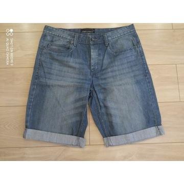 Spodenki  jeans krótkie rozmiar 52, Angelo Litrico