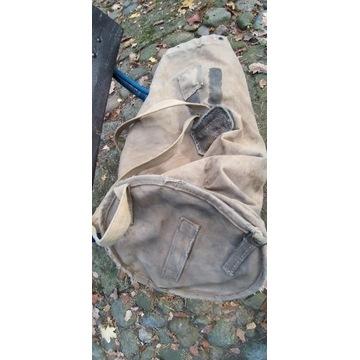 Duży wór/ plecak niemieckiego żołnierza (jeńca?)