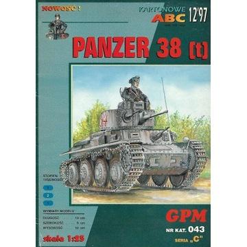 GPM 043 Panzer 38 (t)