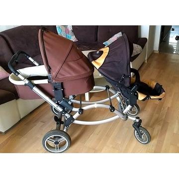 Wózek dziecięcy ABC DESGIN ZOOM, używany !!