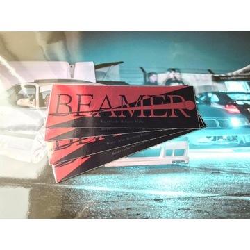 Wlepa drift *Beamer Red Dark* najlepsza jakość!
