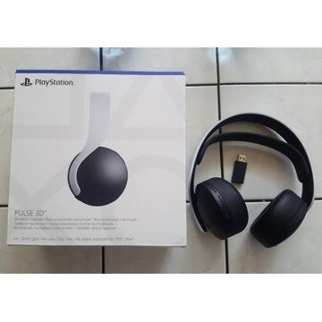 Słuchawki PS5  PULSE 3D NOWE GWARANCJA