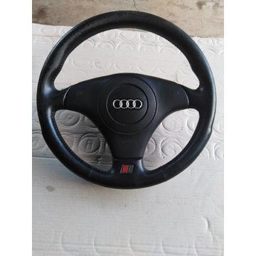 Kierownica Audi A6 C5 s_line skóra poduszka