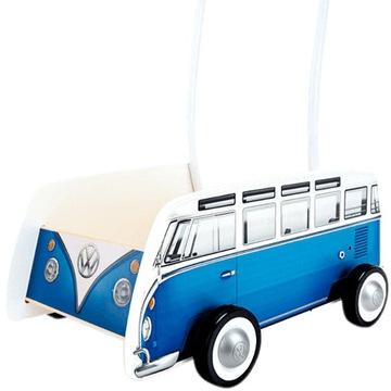 PCHACZ, CHODZIK WÓZEK VW BUS T1 DREWNIANY 24H