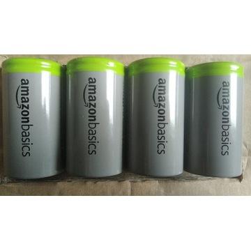 Komplet akumulatorków R20 10000mAh Amazon Basics