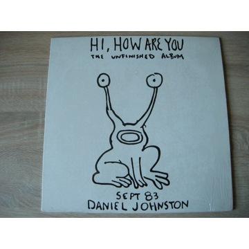 DANIEL JOHNSTON - HI HOW ARE YOU - LP
