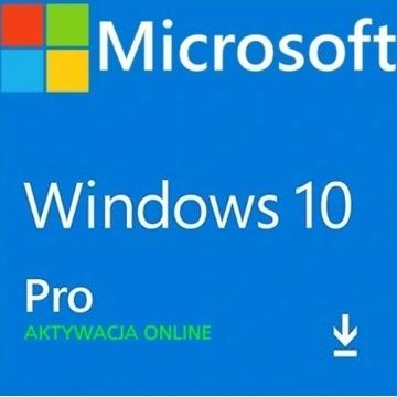 Klucz Windows 10 Pro Professional 32/64BIT PL