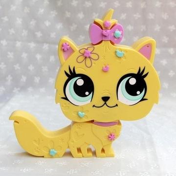 Littlest Pet Shop pudełko skrytka kot kotek naklej