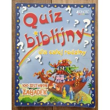 Quiz biblijny dla całej rodziny - zagadki