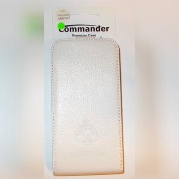 Etui z klapką Commander Skóra Galaxy S4