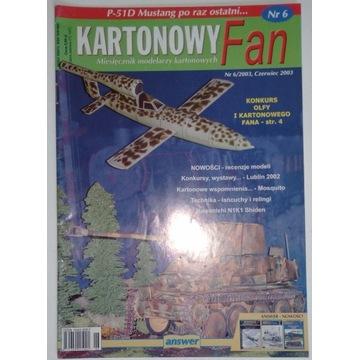 Kartonowy Fan nr 6 2003/06