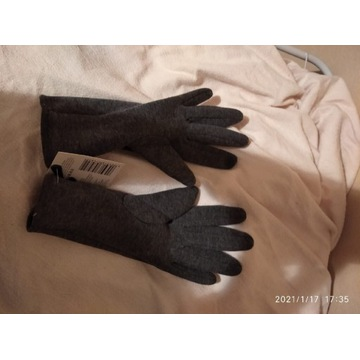 Rękawiczki materiałowe damskie