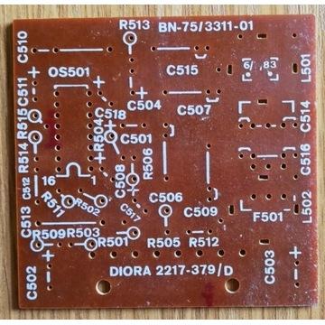 Płytka PCB MSH101 - DOLBY-B