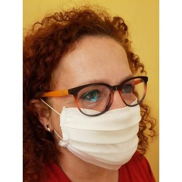 Maseczka maska 3 warstwowa 120g/m2