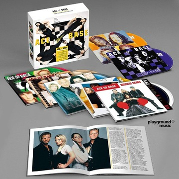 ACE OF BASE-All That She Wants (11 Cd+Dvd)  folia
