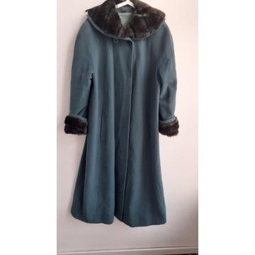 Płaszcz z wełną i kaszmirem WYPRZEDAŻ