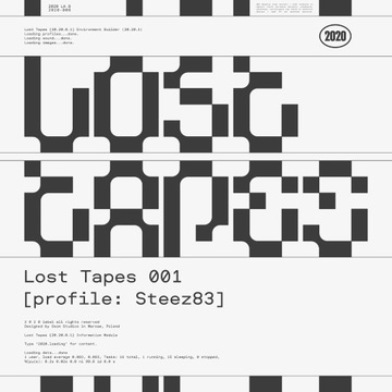 Steez83 - Lost Tapes 001 Pro8l3m Ltd 1/2000