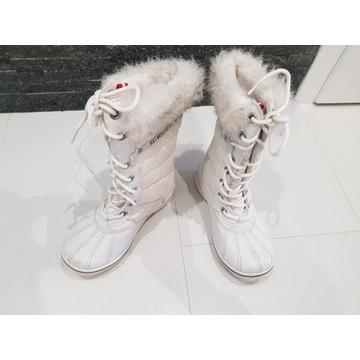 Buty zimowe dziewczęce Rozmiar 32