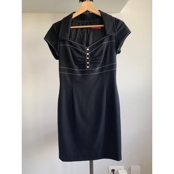 Leo Lazzi sukienka wełna wiskoza 36