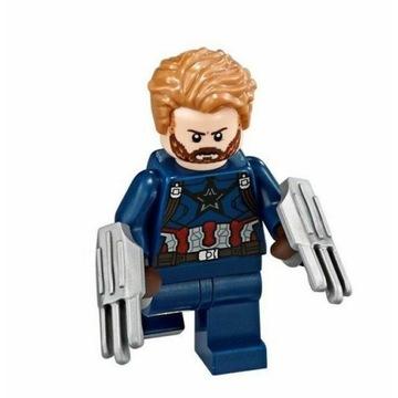 Lego Capitan America Marvel sh495