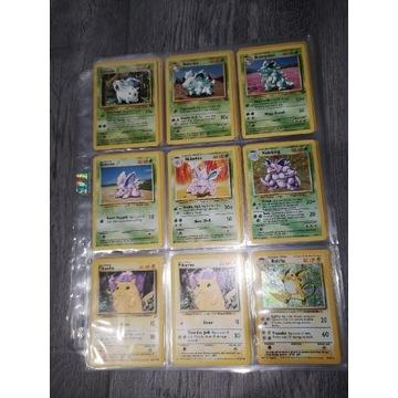 124 Karty Pokemon 10 Holo Zestaw 1999 Vintage TCG
